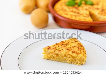 Ingredients of Omelet Stock photo © zhekos