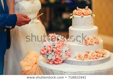 make-up · asian · chinese · openhartig · bruiloft - stockfoto © svetography