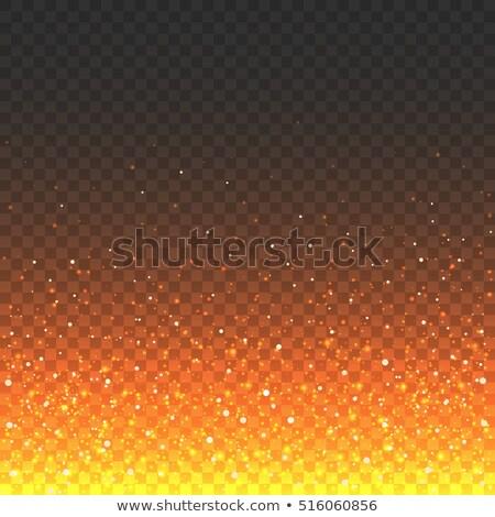 yangın · alev · dalga · soyut · yalıtılmış · doku - stok fotoğraf © beholdereye