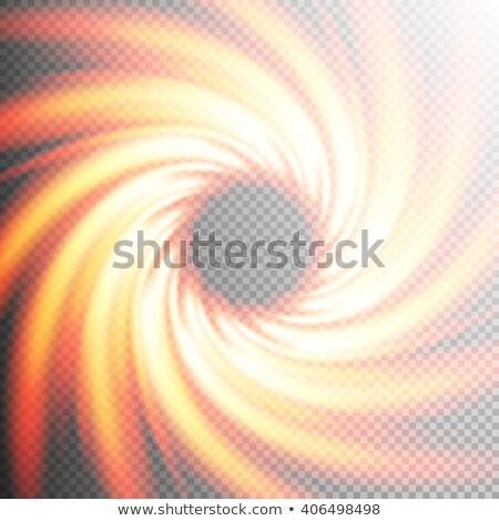 Fire realistic frame twirl background. EPS 10 Stock photo © beholdereye