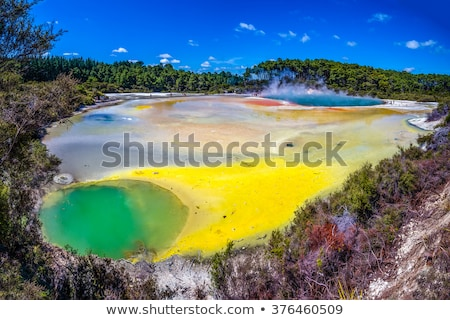 Thermal Pool at Wai-O-Tapu stock photo © oliverfoerstner