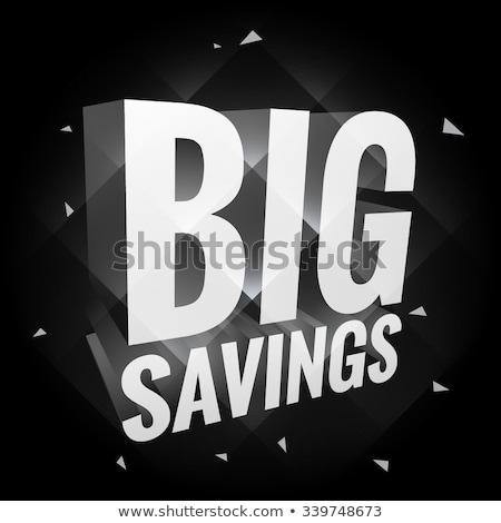 büyük · satış · poster · iş · yazı · pazar - stok fotoğraf © sarts
