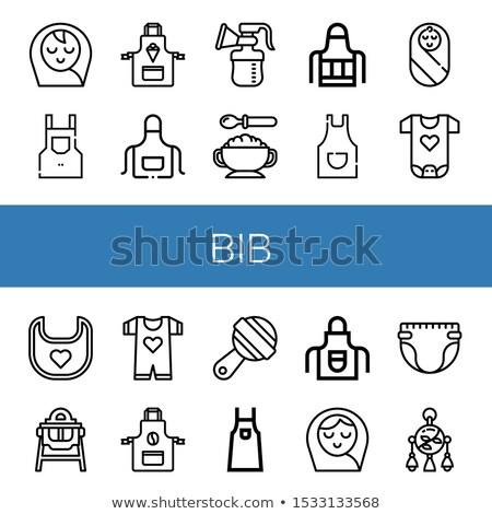 elektrische · borst · pompen · icon · grijs · voedsel - stockfoto © angelp