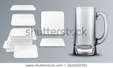 коктейль · иллюстрация · белый · вино · молоко - Сток-фото © natali_brill