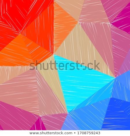 カラフル · 行 · 混乱 · 抽象的な · 白 · テクスチャ - ストックフォト © borysshevchuk