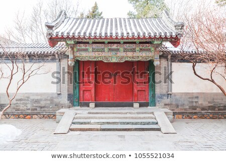chinese traditional style garden stock photo © raywoo