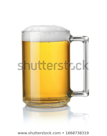 пива · бутылку · кружка · изолированный · Бар - Сток-фото © cipariss