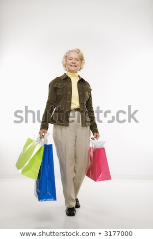 women shopping looking at viewer Stock photo © IS2
