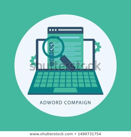 Traffic Conversion - Cartoon Green Word. Business Concept. Stock photo © tashatuvango