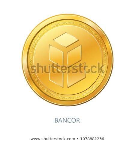 Bancor Digital Currency - Vector Element. Stock photo © tashatuvango