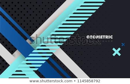 プレミアム 行 対角線 ストックフォト © SArts