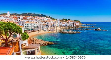 Nice wody punkt orientacyjny hiszpanski miasta niebo Zdjęcia stock © digoarpi