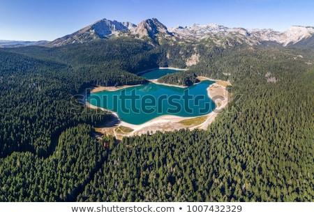 черный озеро горные Черногория мнение воды Сток-фото © boggy