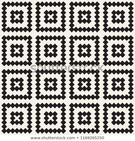 Absztrakt geometrikus minta hullámos vonalak csíkok végtelenített Stock fotó © Designer_things