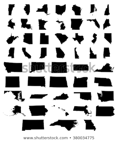 Map of the U.S. District of Columbia, vector illustration. Stock photo © kyryloff