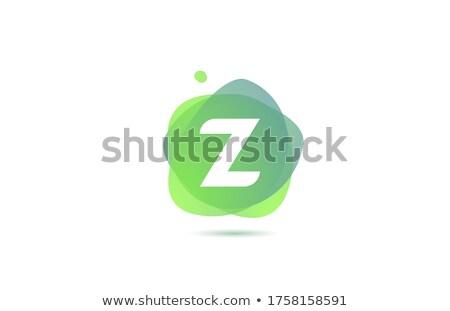 緑 ロゴタイプ 手紙 ベクトル にログイン アイコン ストックフォト © blaskorizov