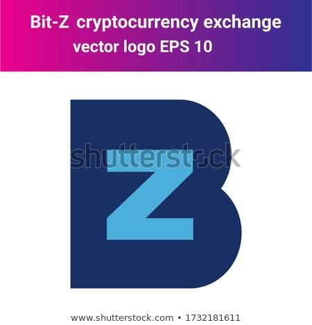 - Bit-Z. The Crypto Coins or Cryptocurrency Logo. Stock photo © tashatuvango