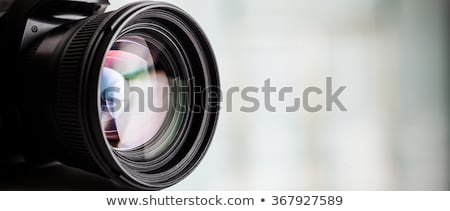 Photographers with Cameras and Equipment Banners Stock photo © robuart