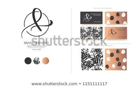 L betű logotípus logo ikon vektor szimbólum Stock fotó © blaskorizov