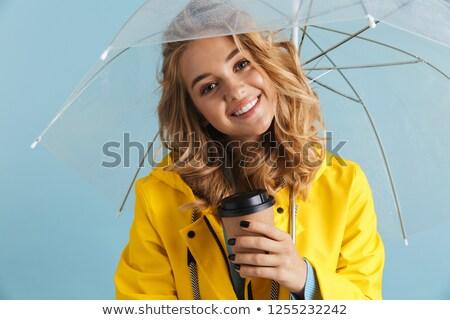 写真 コンテンツ 女性 20歳代 着用 黄色 ストックフォト © deandrobot