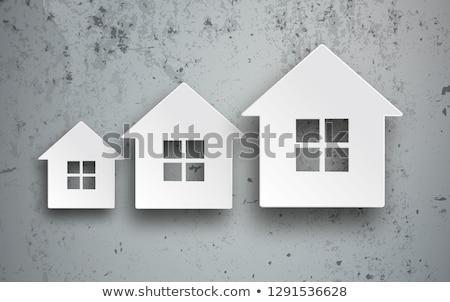 Case concrete cedere casa costruzione forme Foto d'archivio © limbi007