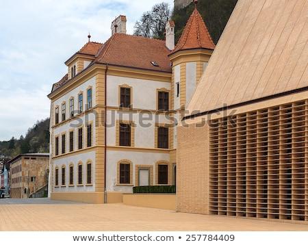 Lihtenştayn müze görmek şehir seyahat mimari Stok fotoğraf © boggy