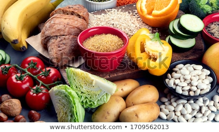 ürünleri zengin lif sağlıklı beslenme gıda üst Stok fotoğraf © furmanphoto