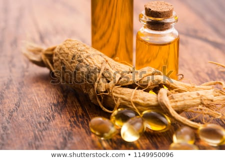 Extract of ginseng root Stock photo © joannawnuk