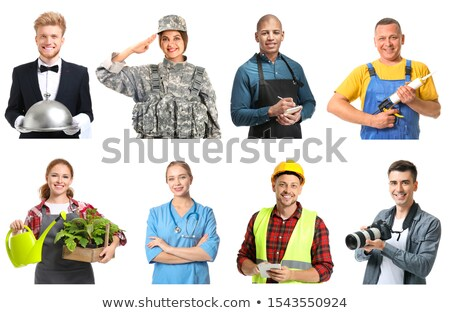 Different occupations Stock photo © colematt