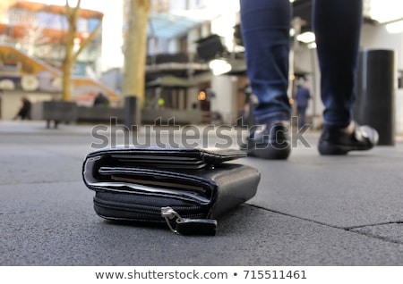 Woman Walking After Losing Her Purse Stock photo © AndreyPopov