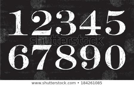 математика числа доске иллюстрация школы стены Сток-фото © colematt