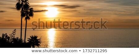 sunrise · Espagne · vue · mer · eau · nature - photo stock © borisb17