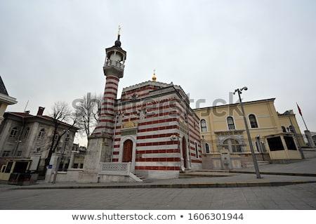 Mecset Isztambul kicsi történelmi központ Törökország Stock fotó © borisb17