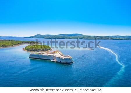 святой · крепость · вход · архипелаг · небе - Сток-фото © xbrchx
