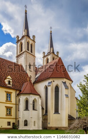 Goss Abbey, Leoben, Austria Stock photo © borisb17