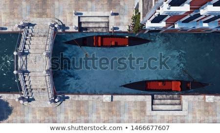 Widoku Wenecja kanał Włochy wody miasta Zdjęcia stock © karandaev