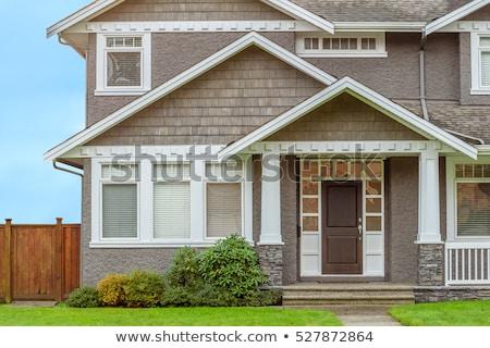 Yaşayan Bina ev dış Stok fotoğraf © robuart