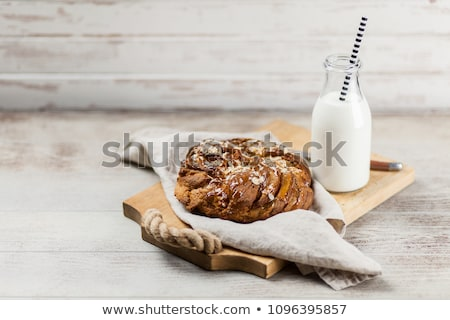 Sweet braided bread loaf Stock photo © grafvision