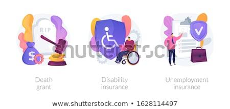 Workers social security policies vector concept metaphors Stock photo © RAStudio