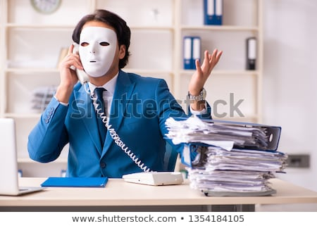 Male employee in the office in industrial espionage concept    Stock photo © Elnur