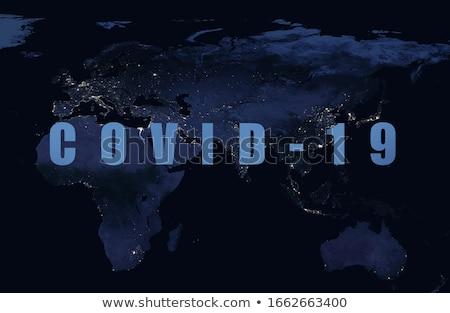 Coronavirus infectie ontwerp gezondheid wetenschap gevaar Stockfoto © SArts