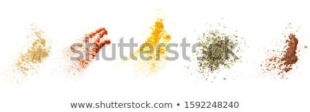 Vermelho páprica gengibre pó escavar Foto stock © Alex9500