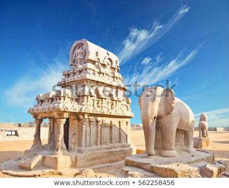 Cinco sul Índia antigo indiano arquitetura Foto stock © dmitry_rukhlenko