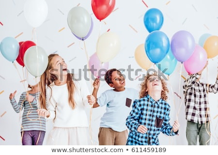 Balloon Kid Stock photo © lenm