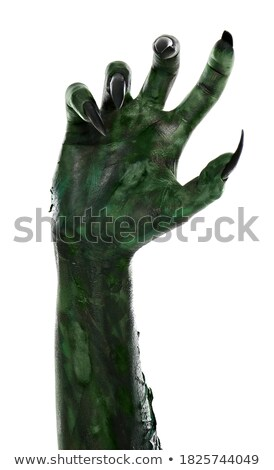 Vert monstre personnage triste cartoon Homme Photo stock © blamb