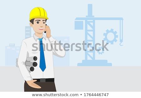 pracy · człowiek · widoku · przybornik - zdjęcia stock © photography33