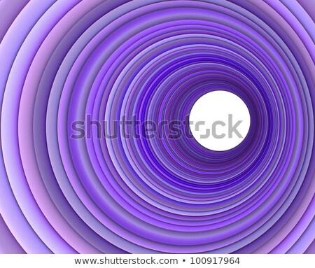 Rendering 3d concentrico tubi multipla colori sfondo Foto d'archivio © Melvin07