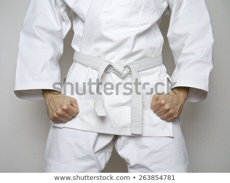 white belt Stock photo © dolgachov