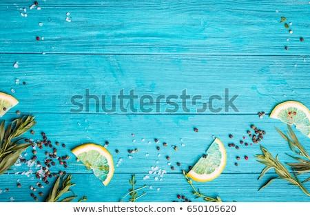 color board on sea Stock photo © Paha_L