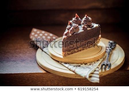 chocolate heaven stock photo © lithian